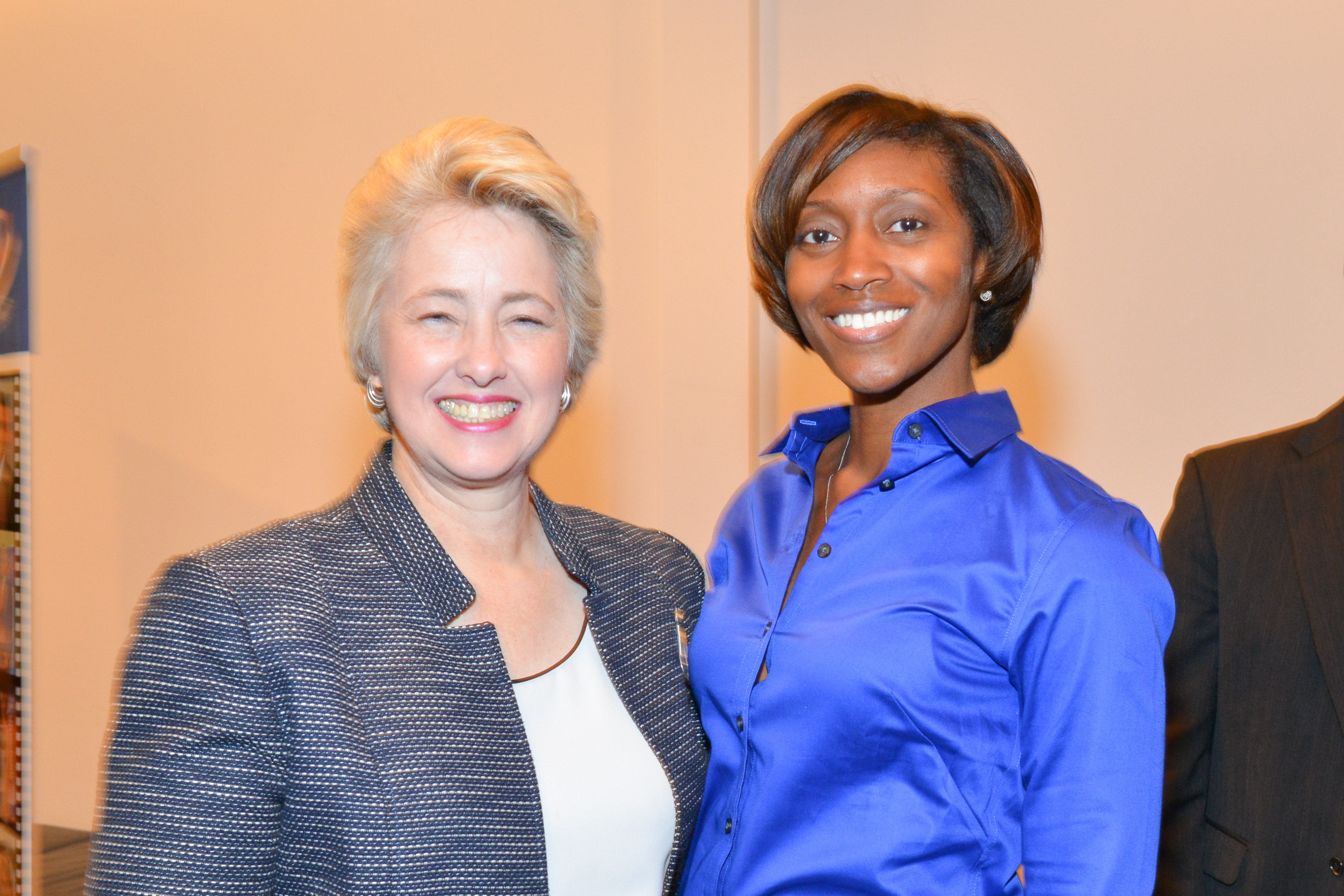 Aundrea & Mayor Annise Parker