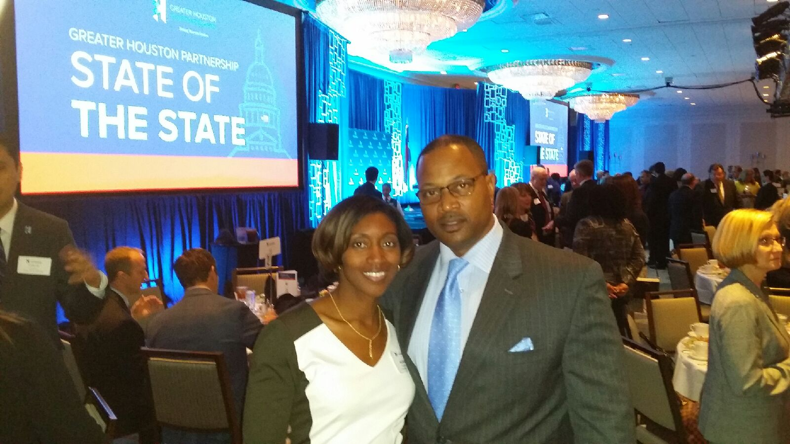 Aundrea & Richard Young at GHP State of the State