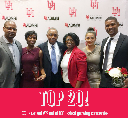 Aundrea and family at the Cougar 100 Luncheon