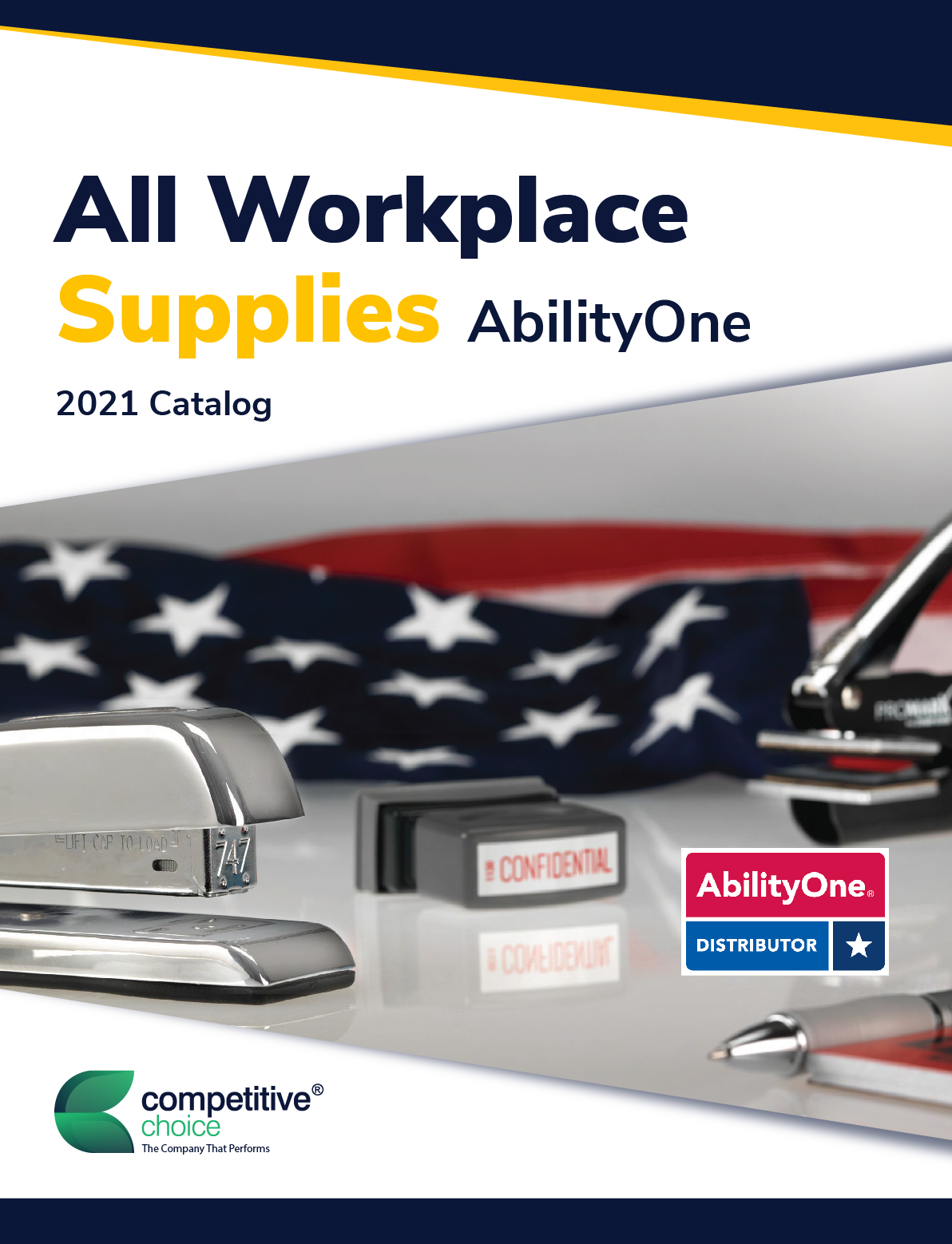 CCI AbilityOne® Workplace Supplies Cover