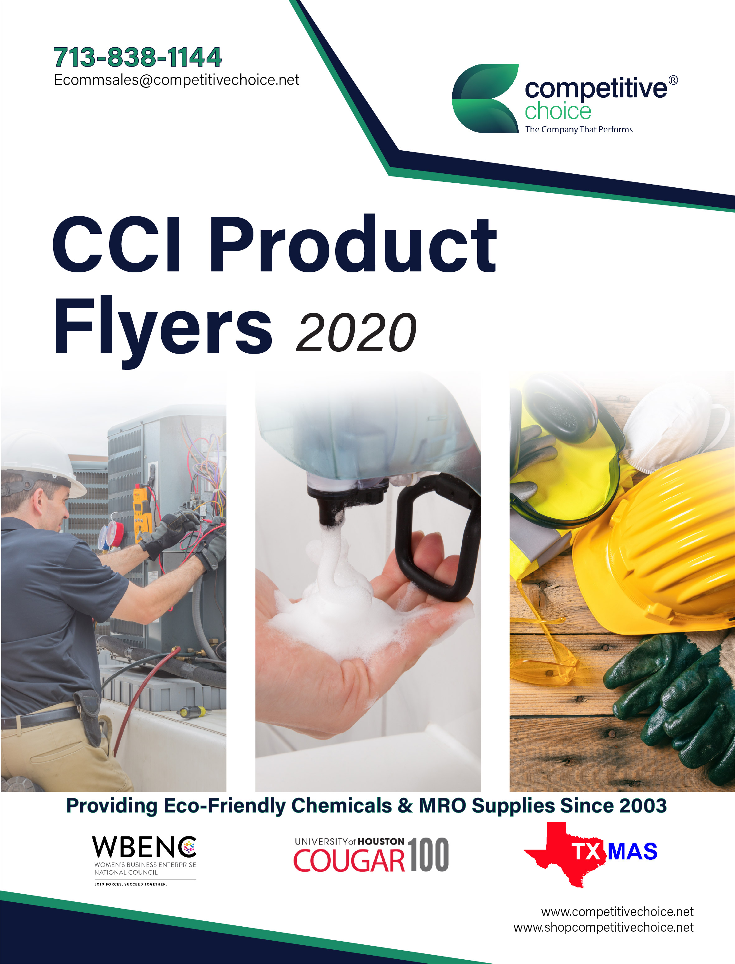 CCI Product Flyers Cover