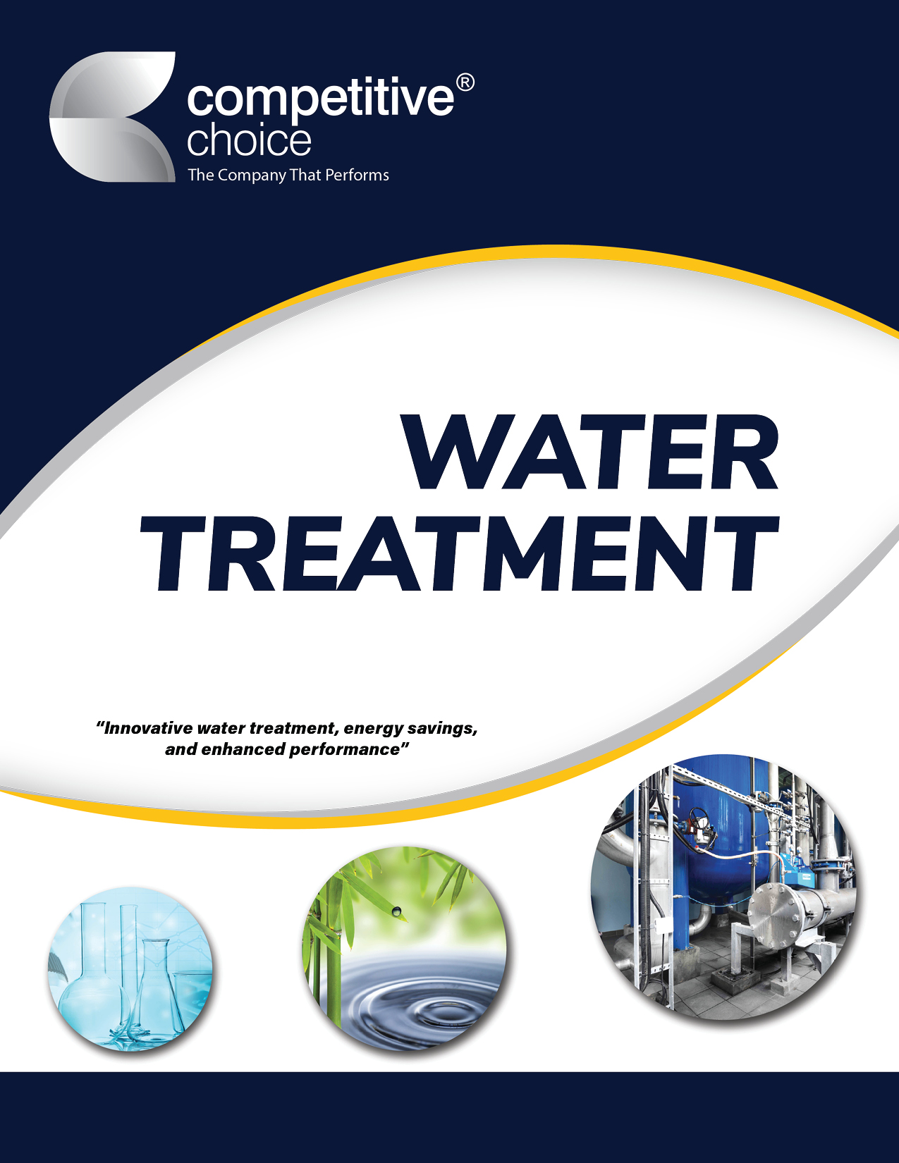 CCI Water Treatment Cover