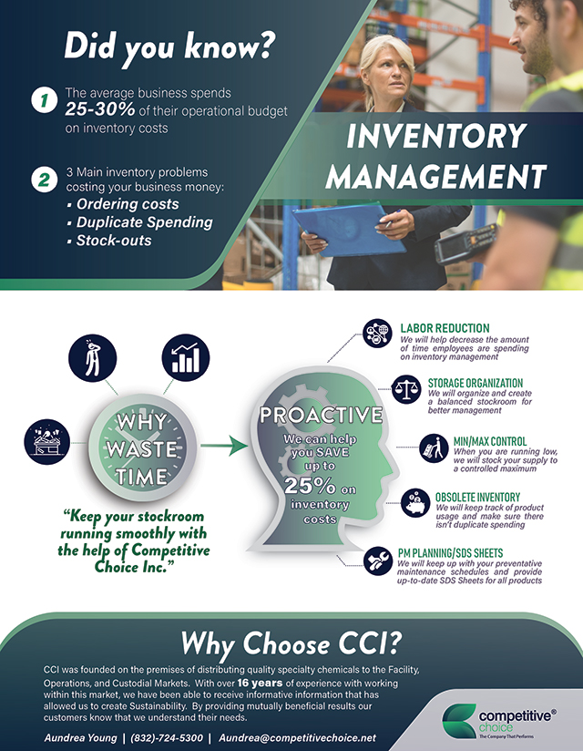 CCI Warehouse & Inventory Cover